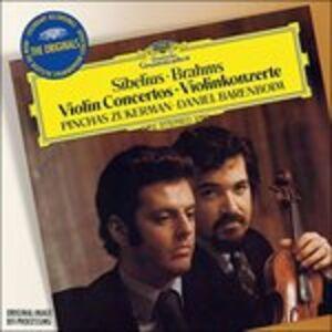 CD Concerti per violino Ludwig van Beethoven , Johannes Brahms , Jean Sibelius