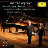 CD Duetti per pianoforte Wolfgang Amadeus Mozart Franz Schubert Igor Stravinsky