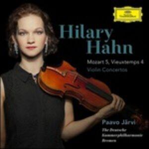 CD Concerto per violino n.5 K219 / Concerto per violino n.4 op.31 Wolfgang Amadeus Mozart , Henri Vieuxtemps
