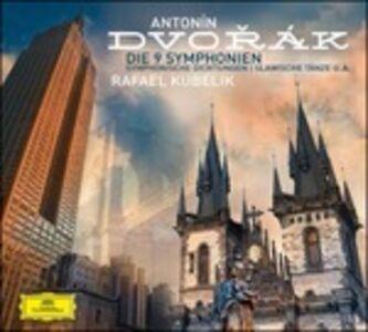 CD 9 Sinfonie - Poemi sinfonici - Danze slave di Antonin Dvorak
