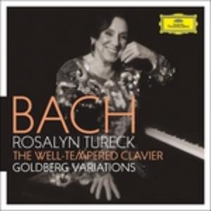 CD Il clavicembalo ben temperato - Variazioni Goldberg di Johann Sebastian Bach