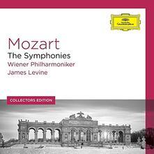Sinfonie complete (Collectors Edition) - CD Audio di Wolfgang Amadeus Mozart,James Levine,Wiener Philharmoniker