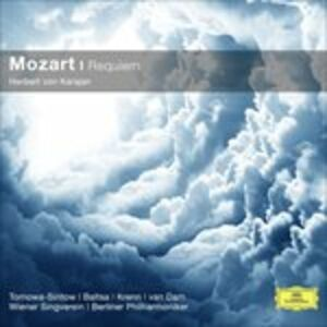 Foto Cover di Requiem, CD di Wolfgang Amadeus Mozart, prodotto da Deutsche Grammophon