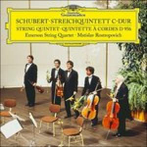 Vinile Quintetto in Do D956 Franz Schubert