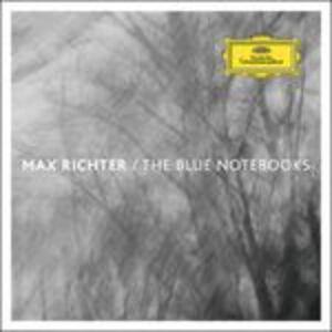 Foto Cover di The Blue Notebooks, CD di Max Richter, prodotto da Universal Classic