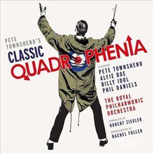 Foto Cover di Classic Quadrophenia, CD di Royal Philharmonic Orchestra,Pete Townshend, prodotto da Deutsche Grammophon
