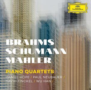 Foto Cover di Quartetti con pianoforte, CD di AA.VV prodotto da Deutsche Grammophon