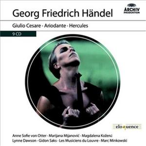 CD Giulio Cesare - Ariodante - Hercules di Georg Friedrich Händel