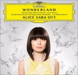CD Wonderland. Concerto per pianoforte, selezione dai Pezzi Lirici e Peer Gynt Suite di Edvard Grieg