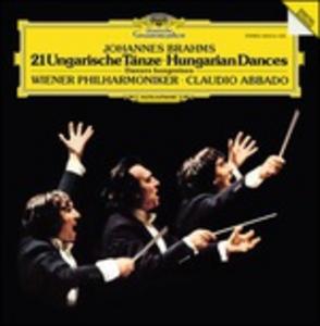 Vinile 21 Danze ungheresi Johannes Brahms