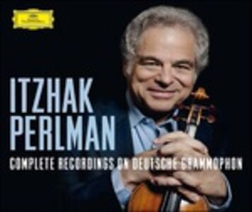 Foto Cover di Complete Recordings on Deutsche Grammophon, CD di Itzhak Perlman, prodotto da Deutsche Grammophon