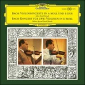 Vinile Concerto per violino n.1, n.2 - Concerto per due violini BWV1044 Johann Sebastian Bach
