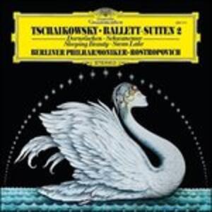 La bella addormentata - Il lago dei cigni - Vinile LP di Pyotr Il'yich Tchaikovsky,Mstislav Rostropovich,Berliner Philharmoniker