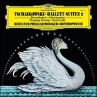 Vinile La bella addormentata - Il lago dei cigni (Suites) Pyotr Ilyich Tchaikovsky Mstislav Rostropovich Berliner Philharmoniker