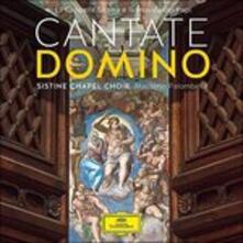 Cantate Domino - CD Audio di Cappella Musicale Pontificia Sistina,Massimo Palombella