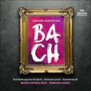CD Musica orchestrale completa di Johann Sebastian Bach