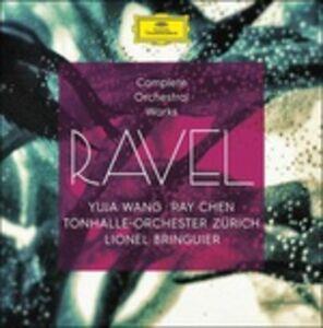 CD Musica completa per orchestra di Maurice Ravel