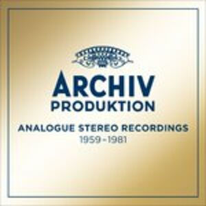 CD The Golden Age of Archiv Produktion. Analogue Stereo Recordings 1959-1981  0