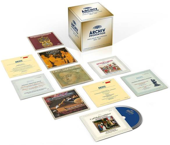 CD The Golden Age of Archiv Produktion. Analogue Stereo Recordings 1959-1981  1