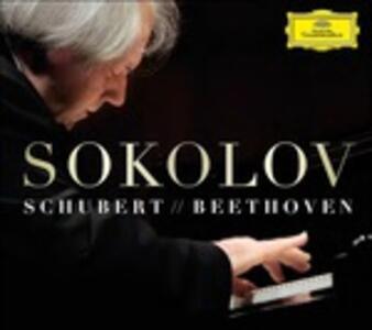 4 Improvvisi - Studi / Hammerklavier - Vinile LP di Ludwig van Beethoven,Franz Schubert,Grigory Sokolov