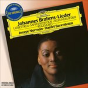 CD Lieder di Johannes Brahms