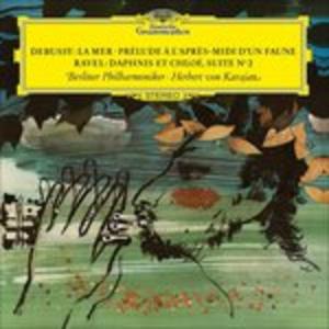 Vinile La mer - Prélude à l'après-midi d'un faune / Daphnis et Chloé Claude Debussy , Maurice Ravel