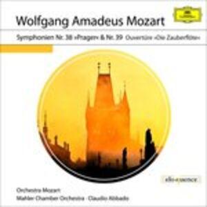 CD Symphonie Nr.38 & 39 di Wolfgang Amadeus Mozart