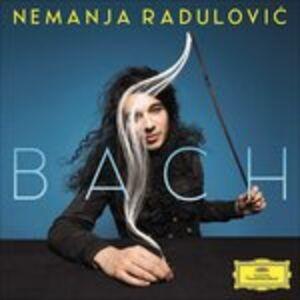 Foto Cover di Bach, CD di Johann Sebastian Bach,Nemanja Radulovic, prodotto da Deutsche Grammophon