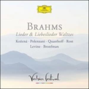 CD Lieder & Liebeslieder Waltzes di Johannes Brahms