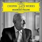 CD Late Works Fryderyk Franciszek Chopin Maurizio Pollini