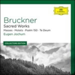 CD Musica sacra di Anton Bruckner