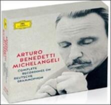 Complete Recordings on Deutsche Grammophon (Box Set) - CD Audio di Arturo Benedetti Michelangeli