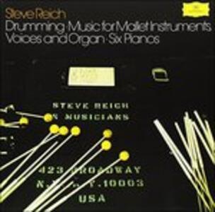 Drumming - Six Pianos - Vinile LP di Steve Reich