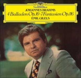 Vinile Quattro Ballate - Sette Fantasie Johannes Brahms
