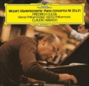 Concerti per pianoforte n.20, n.21 - Vinile LP di Wolfgang Amadeus Mozart,Friedrich Gulda,Claudio Abbado