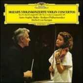 Vinile Concerti per violino n.3 e n.5 Wolfgang Amadeus Mozart Herbert Von Karajan Anne-Sophie Mutter