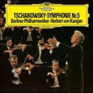 Sinfonia n.5 - Vinile LP di Pyotr Il'yich Tchaikovsky,Herbert Von Karajan,Berliner Philharmoniker