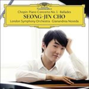 Concerto per pianoforte n.1 - Ballate - Vinile LP di Fryderyk Franciszek Chopin,London Symphony Orchestra,Gianandrea Noseda,Seong-Jin Cho