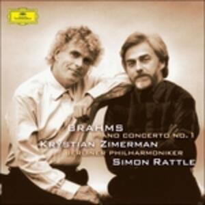 Concerto per pianoforte n.1 - Vinile LP di Johannes Brahms,Krystian Zimerman