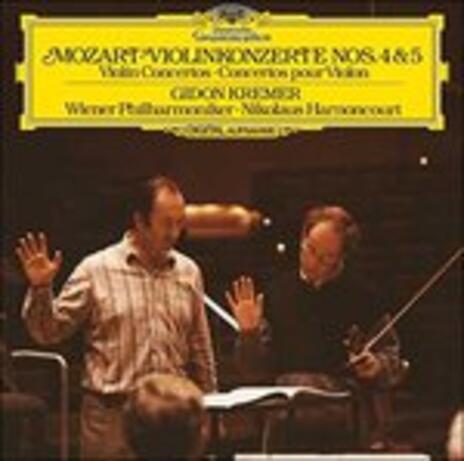 Concerti per violino n.2, n.3 - Vinile LP di Wolfgang Amadeus Mozart,Nikolaus Harnoncourt,Gidon Kremer,Wiener Philharmoniker