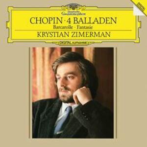 4 Ballate - Barcarola - Vinile LP di Fryderyk Franciszek Chopin,Krystian Zimerman