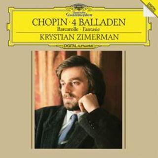 Vinile 4 Ballate - Barcarola Fryderyk Franciszek Chopin Krystian Zimerman