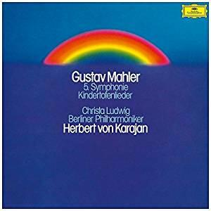 Sinfonia n.5 - Kindertotenlieder - Vinile LP di Gustav Mahler,Herbert Von Karajan,Berliner Philharmoniker