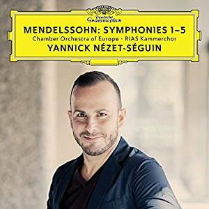 Le sinfonie complete - CD Audio di Felix Mendelssohn-Bartholdy,Chamber Orchestra of Europe,RIAS Kammerchor,Yannick Nezet-Seguin