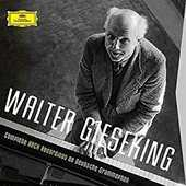 CD The Complete Bach Recordings on Deutsche Grammophon Johann Sebastian Bach Walter Gieseking