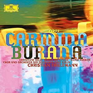 Carmina Burana - Vinile LP di Carl Orff,Christian Thielemann,Simon Keenlyside,Christiane Oelze,Orchester der Deutschen Oper Berlino