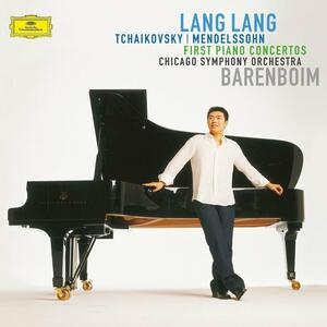 Concerti per pianoforte - Vinile LP di Pyotr Il'yich Tchaikovsky,Felix Mendelssohn-Bartholdy,Lang Lang,Daniel Barenboim,Chicago Symphony Orchestra