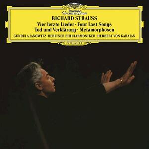 Morte e trasfigurazione - Ultimi 4 Lieder - Vinile LP di Richard Strauss,Herbert Von Karajan,Berliner Philharmoniker