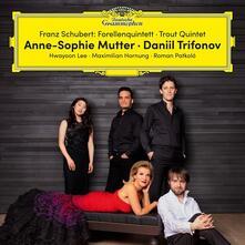 Quintetto op.114 D667 La trota - Vinile LP di Franz Schubert,Anne-Sophie Mutter,Daniil Trifonov,Maximilian Hornung,Hwayoon Lee,Roman Patkoló