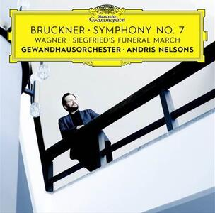 Sinfonia n.7 - CD Audio di Anton Bruckner,Gewandhaus Quartett Lipsia,Andris Nelsons